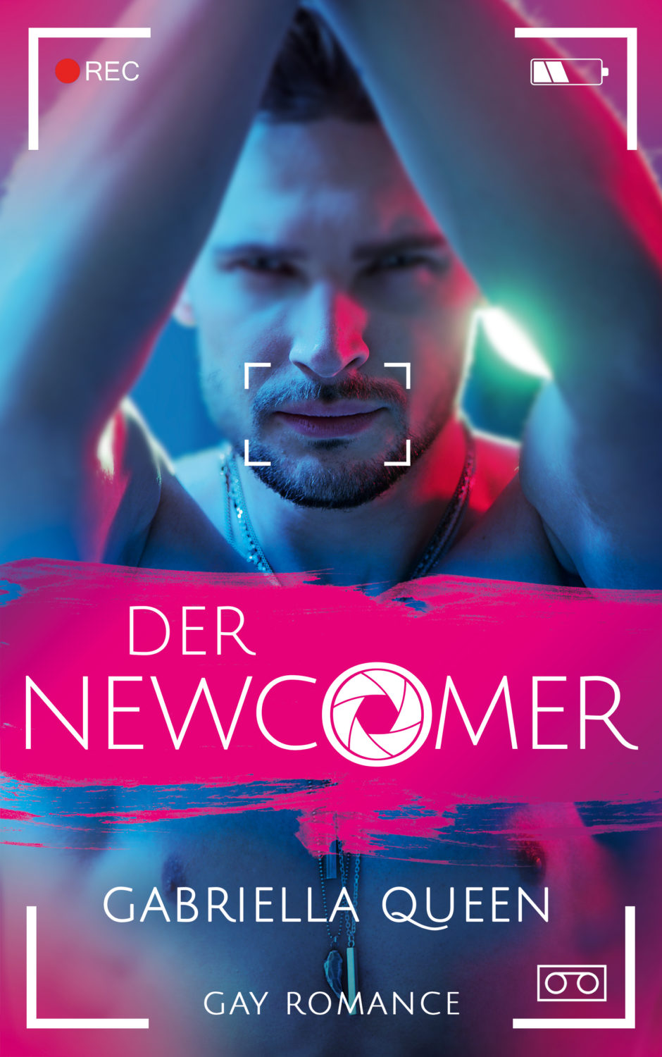 Der Newcomer Gay Romance Cover