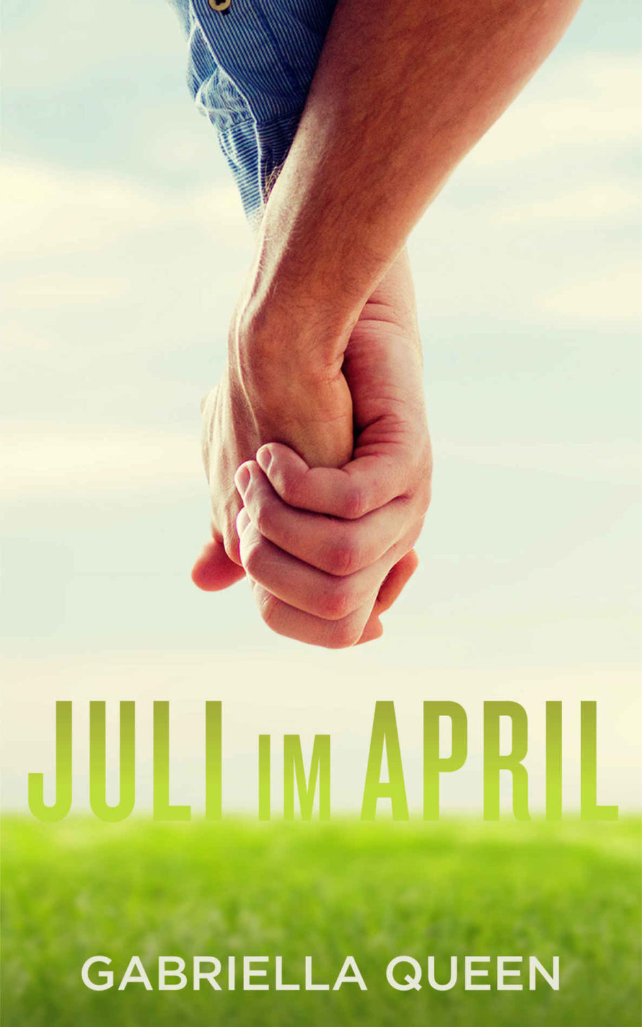 Juli im April Gay Romance Buchcover