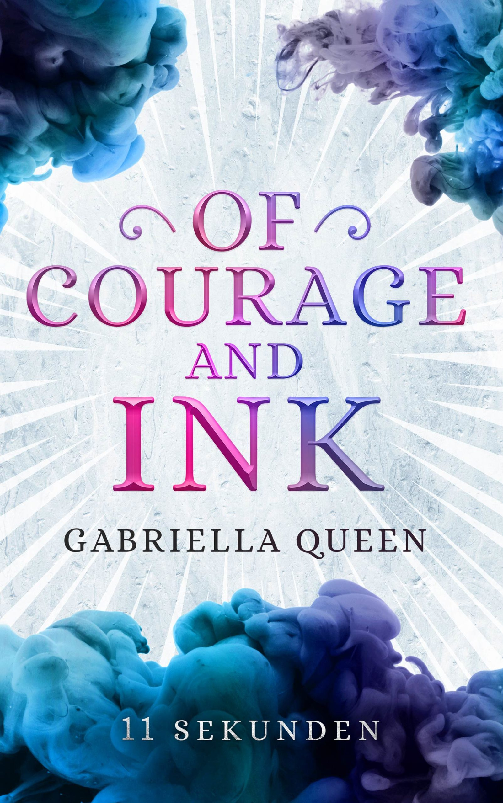 Of Courage and Ink 1 Superhelden Gay Romance Buchcover